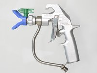 airless paint spray gun graco silver plus type