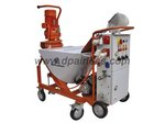 auto-mixing cement spraying pump machine